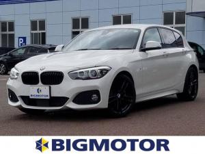 BMW 1シリーズ 118d Mスポーツエディションシャドー 1オーナー ETC