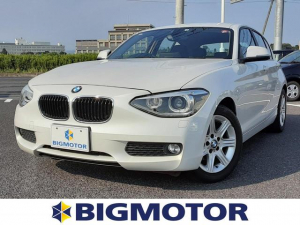BMW 1シリーズ 116i 社外ナビ/バックカメラ 修復歴無 禁煙車 ETC