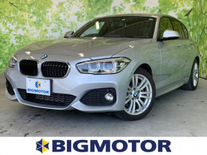 BMW 1シリーズ 120i Mスポーツ 修復歴無 ワンオーナー アルミホイール 社外HDDナビ ヘッドランプLED アイドリングストップ 2列目分割可倒 定期点検記録簿 取扱説明書・保証書 エアバッグ 横滑り防止装置 盗難防止システム