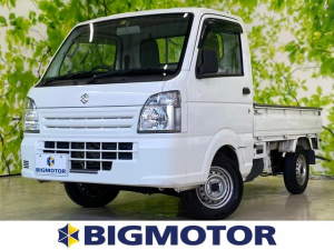 スズキ キャリイトラック KC 駆動4WD マニュアルエアコン ユーザー買取車 エアバッグ運転席 三方開