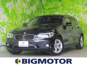 BMW 1シリーズ 118i スポーツ アルミホイールヘッドランプHIDキーレス ワンオーナーEBD付ABS衝突安全装置車線逸脱防止支援システム横滑り防止装置盗難防止装置ETC純正ナビ パワーステアリング