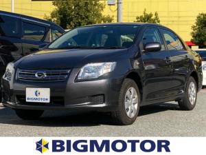 トヨタ カローラアクシオ X EBD付ABS/エアバッグ 運転席/エアバッグ 助手席/パワーウインドウ/キーレスエントリー/パワーステアリング