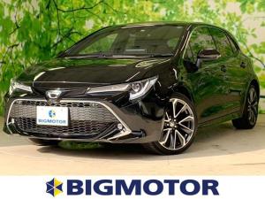 トヨタ カローラスポーツ G Z 車線逸脱防止支援システム/ヘッドランプ LED/EBD付ABS/横滑り防止装置/エアバッグ 運転席/エアバッグ 助手席/エアバッグ サイド/アルミホイール/パワーウインドウ/キーレスエントリー