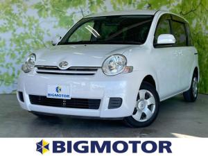 トヨタ シエンタ Xリミテッド EBD付ABS/エアバッグ 運転席/エアバッグ 助手席/パワーウインドウ/キーレスエントリー/パワーステアリング/マニュアルエアコン