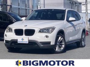 BMW X1 sDrive18iスポーツ 純正 7インチ HDDナビ/ヘッドランプ HID/EBD付ABS/横滑り防止装置/エアバッグ 運転席/エアバッグ 助手席/エアバッグ サイド/アルミホイール/パワーウインドウ/キーレスエントリー