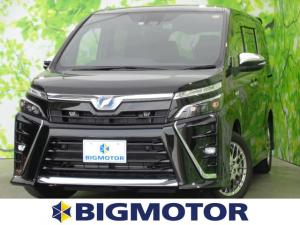 トヨタ ヴォクシー ハイブリッドZSキラメキ2 10インチナビ/セーフティ/両側電動スライド/LED/車線逸脱防止支援システム/ヘッドランプ LED/EBD付ABS/横滑り防止装置/アイドリングストップ/エアバッグ 運転席/エアバッグ 助手席