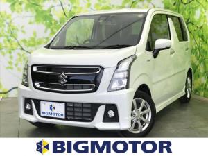 スズキ ワゴンRスティングレー X 車線逸脱防止支援システム/ヘッドランプ LED/EBD付ABS/横滑り防止装置/アイドリングストップ/エアバッグ 運転席/エアバッグ 助手席
