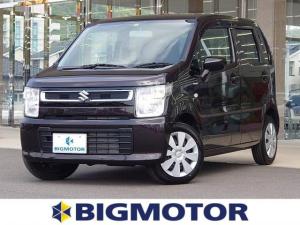 スズキ ワゴンR FX オーディオデッキ/Bluetooth/運転シートヒーター 禁煙車 アイドリングストップ オートライト