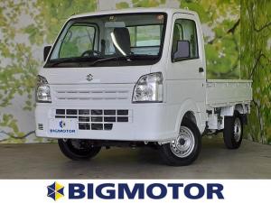 スズキ キャリイトラック 4WD_KC ヘッドランプ HID/エアバッグ 運転席/ワンオーナー/4WD/定期点検記録簿 HIDヘッドライト