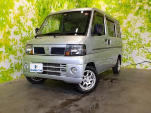 日産 クリッパーバン GL 社外 7インチ メモリーナビ/TV/エアバッグ 運転席/アルミホイール/マニュアルエアコン/定期点検記録簿 4WD