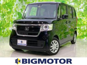 ホンダ N-BOX G・ホンダセンシング ヘッドランプ LED/EBD付ABS/横滑り防止装置/アイドリングストップ/エアバッグ 運転席/エアバッグ 助手席/パワーウインドウ/キーレスエントリー/オートエアコン/パワーステアリング 禁煙車