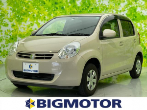トヨタ パッソ Xクツロギ 社外 HDDナビ/ヘッドランプ LED/Bluetooth接続/ETC/EBD付ABS/バックモニター/エアバッグ 運転席/エアバッグ 助手席/パワーウインドウ/キーレスエントリー バックカメラ