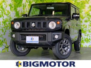 スズキ ジムニー XC セーフティサポート/シートヒーター/車線逸脱防止支援システム/ヘッドランプ LED/ABS/横滑り防止装置/エアバッグ 運転席/エアバッグ 助手席/エアバッグ サイド LEDヘッドランプ 4WD