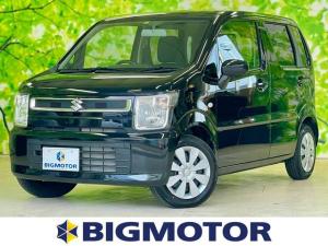 スズキ ワゴンR FX ♪1番売れてるワゴンRが安心の低走行 CD付/EBD付ABS/横滑り防止装置/アイドリングストップ/エアバッグ 運転席/エアバッグ 助手席/パワーウインドウ/キーレスエントリー/オートエアコン 禁煙車