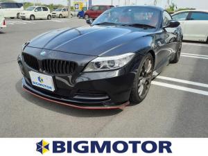 BMW Z4 sDrive20i 純正 HDDナビ/ヘッドランプ HID/ETC/EBD付ABS/横滑り防止装置/DVD/エアバッグ 運転席/エアバッグ 助手席/エアバッグ サイド/アルミホイール/パワーウインドウ DVD再生