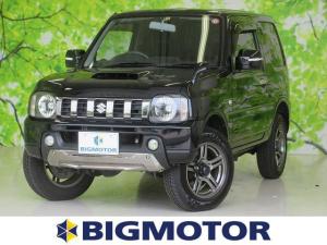 スズキ ジムニー ランドベンチャー シート ハーフレザー/ETC/ABS/エアバッグ 運転席/エアバッグ 助手席/アルミホイール/パワーウインドウ/キーレスエントリー/パワーステアリング/ワンオーナー/4WD/マニュアルエアコン