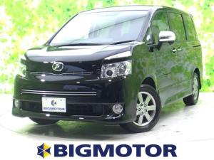 トヨタ ヴォクシー ZSキラメキ2 社外 7インチ HDDナビ/フリップダウンモニター 社外 10.1インチ/両側電動スライドドア/ヘッドランプ HID/ETC/EBD付ABS/TV/エアバッグ 運転席/エアバッグ 助手席 ワンオーナー