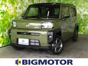 ダイハツ タフト Gターボ 4WD/LEDヘッド&フォグ/シートヒーター/プッシュスタート/ガラスルーフ/車線逸脱防止支援システム/パーキングアシスト バックガイド/ヘッドランプ LED/EBD付ABS サンルーフ
