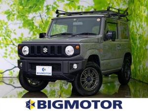 スズキ ジムニー XL ETC/ABS/横滑り防止装置/エアバッグ 運転席/エアバッグ 助手席/エアバッグ サイド/アルミホイール/パワーウインドウ/キーレスエントリー/オートエアコン/シートヒーター 前席 4WD