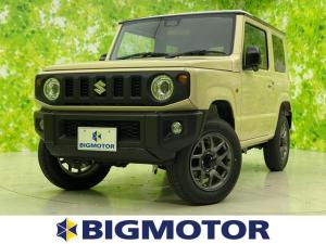 スズキ ジムニー XC 車線逸脱防止支援システム/ヘッドランプ LED/ABS/横滑り防止装置/エアバッグ 運転席/エアバッグ 助手席/エアバッグ サイド/パワーウインドウ 4WD