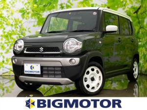 スズキ ハスラー G EBD付ABS/横滑り防止装置/アイドリングストップ/エアバッグ 運転席/エアバッグ 助手席/パワーウインドウ/キーレスエントリー/オートエアコン/シートヒーター 前席/パワーステアリング 禁煙車