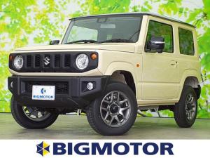 スズキ ジムニー XC セーフティサポート/車線逸脱防止支援システム/ヘッドランプ LED/ABS/横滑り防止装置/エアバッグ 運転席/エアバッグ 助手席/エアバッグ サイド/パワーウインドウ/キーレスエントリー ターボ