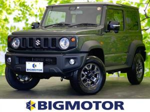 スズキ ジムニーシエラ JC 車線逸脱防止支援システム/EBD付ABS/横滑り防止装置/エアバッグ 運転席/エアバッグ 助手席/エアバッグ サイド/パワーウインドウ/オートエアコン/シートヒーター 前席/パワーステアリング 4WD