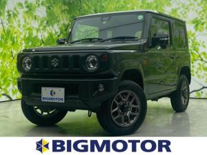 スズキ ジムニー XC スズキセーフティーサポート/車線逸脱防止支援システム/ヘッドランプ LED/ABS/横滑り防止装置/エアバッグ 運転席/エアバッグ 助手席/エアバッグ サイド/パワーウインドウ 4WD