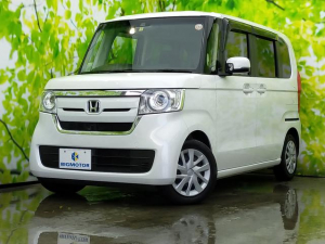 ホンダ N-BOX G・Lホンダセンシング ♪純正インターナビフルセグは便利な両側オートスライドドア/電動スライドドア/ヘッドランプ LED/ETC/EBD付ABS/横滑り防止装置/アイドリングストップ/エアバッグ 運転席 LEDヘッドランプ