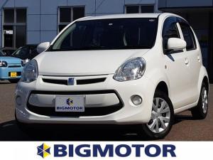 トヨタ パッソ X EBD付ABS/エアバッグ 運転席/エアバッグ 助手席/パワーウインドウ/パワーステアリング/FF/マニュアルエアコン