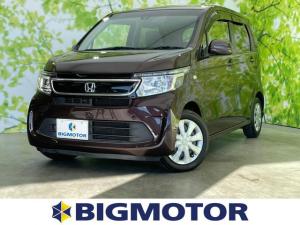 ホンダ N-WGN G 純正 7インチ HDDナビ/EBD付ABS/横滑り防止装置/アイドリングストップ/エアバッグ 運転席/エアバッグ 助手席/パワーウインドウ/キーレスエントリー/オートエアコン/パワーステアリング