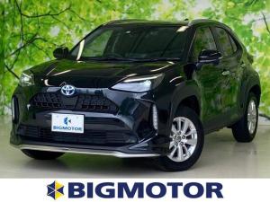 トヨタ ヤリスクロス ハイブリッドG モデリスタFエアロ/純正ディスプレイオーディオ/バックモニター/プッシュスタート/LEDヘッドライト/セーフティセンス/車線逸脱防止支援システム/パーキングアシスト バックガイド/EBD付ABS