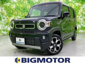 スズキ ハスラー 4WDハイブリッドX 全方位カメラPKG/セーフティサポート/LEDヘッドライト/車線逸脱防止支援システム/パーキングアシスト バックガイド/ヘッドランプ LED/EBD付ABS/横滑り防止装置 LEDヘッドランプ 4WD