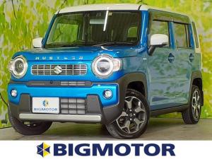 スズキ ハスラー 4WDハイブリッドXターボ 純正 9インチ メモリーナビ/セーフティサポート(スズキ)/車線逸脱防止支援システム/パノラマモニター/ヘッドランプ LED/Bluetooth接続/ETC/EBD付ABS/横滑り防止装置 4WD