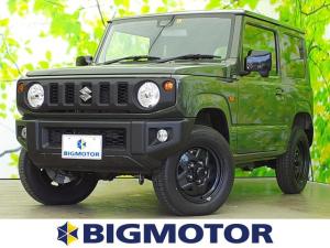 スズキ ジムニー XL セーフティサポート(スズキ)/車線逸脱防止支援システム/登録済未使用車/ABS/横滑り防止装置/ターボ/エアバッグ 運転席/エアバッグ 助手席/エアバッグ サイド/パワーウインドウ 4WD