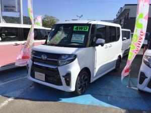 ダイハツ タント カスタムX 4WD 運転席助手席シートヒーター付 キーフリー