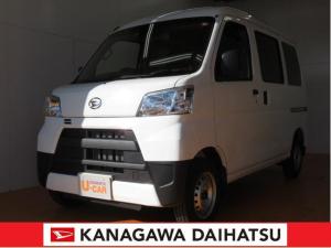 ダイハツ ハイゼットカーゴ デラックスSAIII -サポカー対象車- スマアシ キーレス