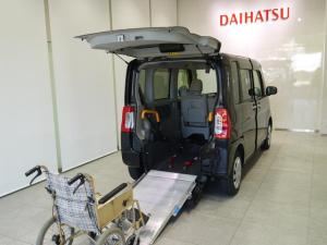 ダイハツ タント スローパーX SA2 車いす移動車 消費税非課税