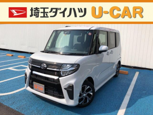 ダイハツ タント カスタムX・デモカーUP・走行1280キロ・LED