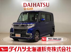 ダイハツ タント カスタムRS トップエディションSAIII 4WD ナビ