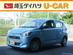 ダイハツ ミライース L SAIII・走行2260キロ・デモカーUP車・CDラジオ