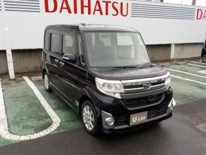 ダイハツ タント カスタムX SA/2WD/CVT車/8インチナビ付/アルミ付