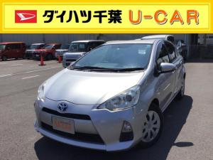トヨタ アクア G    キーフリー/オートエアコン/電動格納ミラー付