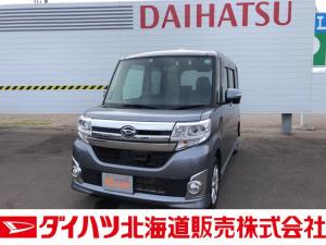 ダイハツ タント カスタムX SA 4WD ナビ