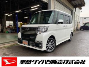 ダイハツ タント カスタムX トップエディションSAIII4WD ナビ