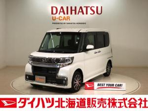 ダイハツ タント カスタムX トップエディションVS SAIII 4WD ナビ