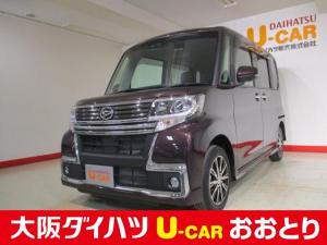 ダイハツ タント カスタムX トップエディションSAIII 4WD ナビ