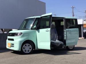 ダイハツ タント ウェルカムシートリフト X パワークレーン付 福祉車両/自社登録展示車/