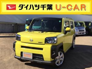 ダイハツ タフト G 運転席・助手席シートヒーター/バックカメラ/カーテンシールドエアバック/LEDヘッドライト標準