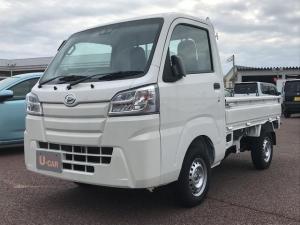ダイハツ ハイゼットトラック スタンダードSAIIIt パートタイム4WD 5MT オートライト ラジオ マニュアルエアコン 衝突回避支援システム